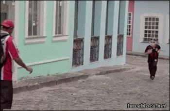 Never accept a weird ball from a stranger. | Are These The 43 Funniest GIFs Of All Time?