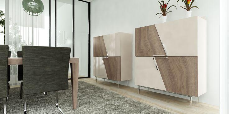 Conjunto armários * Mesa de jantar * Conjunto cadeiras