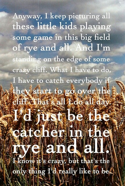 Read Catcher In The Rye for my outside reading. Love it!