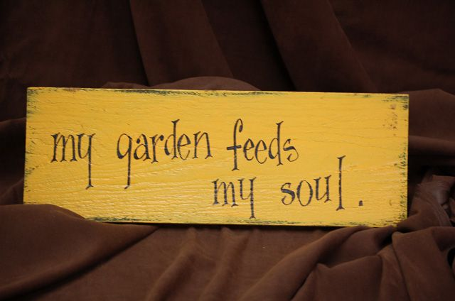 Cute Garden Sign Sayings | Garden Signs
