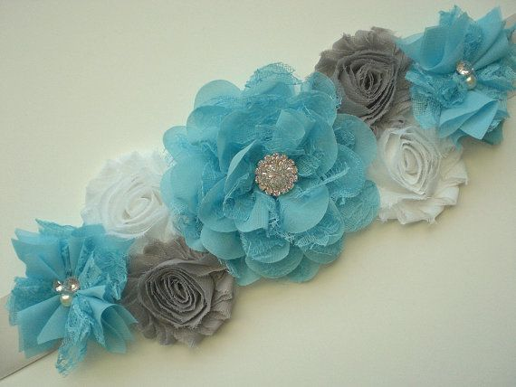 Maternity Sashes Are So Popular Right Now..... Wear It As A