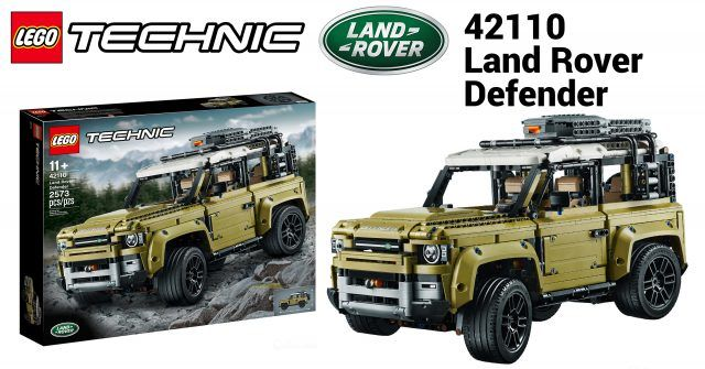 Lego Technic 42110 Land Rover Defender Officially Unveiled News
