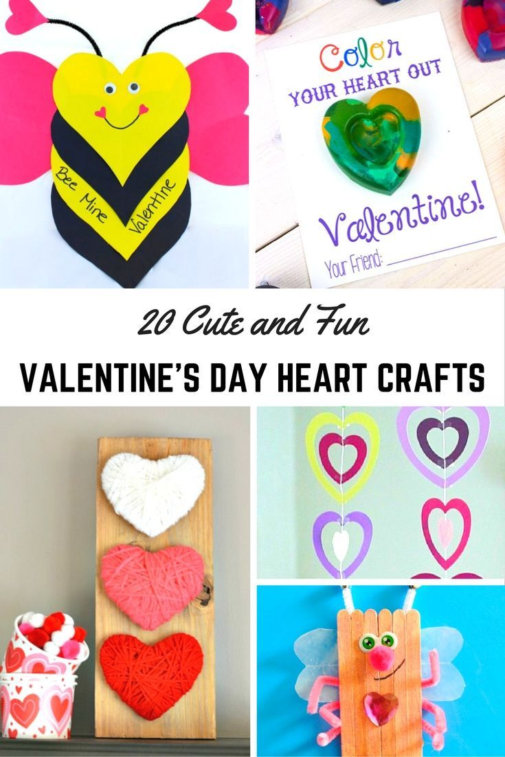 Cute And Fun Valentines Day Heart Crafts Share The Love With These Fantastic Achievable