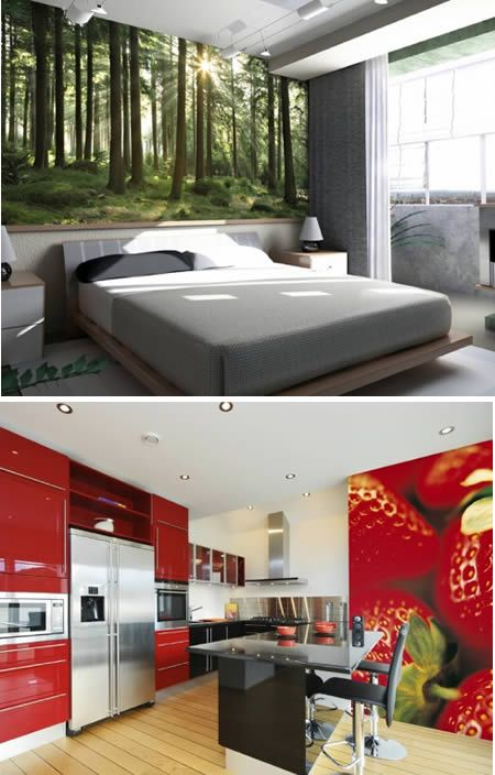Stemik Living digital wallpapers 12 Amazing and Creative Home Wallpapers