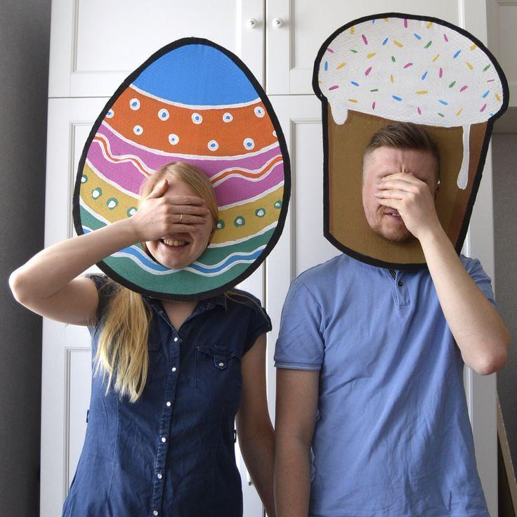 Пасхальный карнавал! #пасха #кулич #яйцо #маска #party