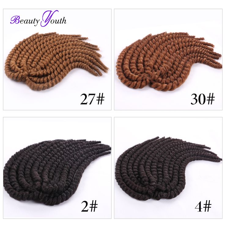 Quality Havana Mambo Twist Crochet Braid Hair Synthetic crochet braids Crochet Braid Hair Extension 12 Inches