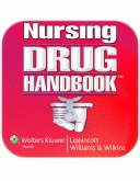 Nursing Drug Handbook App from Lippincott. Tip: download a drug app on your cell so you can look up new meds at clinicals (hide in a broom closet if needed)! :-)