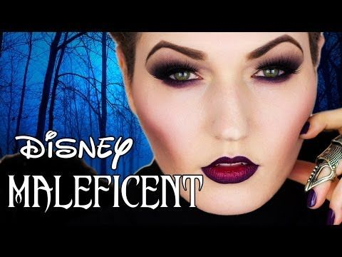 Check out this Disney Maleficent tutorial by Julia Graf using Makeup Geek eye shadows in Unexpected and Vanilla Bean.
