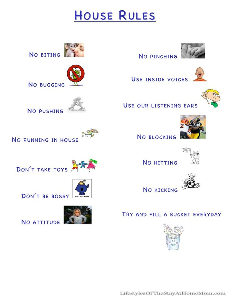 House rules for kids that 39 s it that 39 s how we run things for House rules chart template