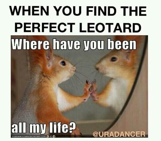 haha so true its hard to find leotards that actually fit me because im tall and lean