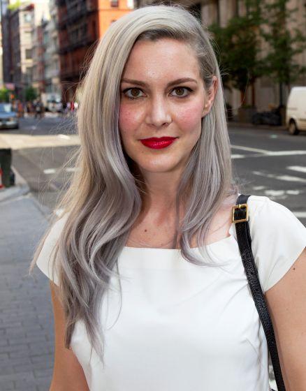 Best 25+ Long silver hair ideas on Pinterest