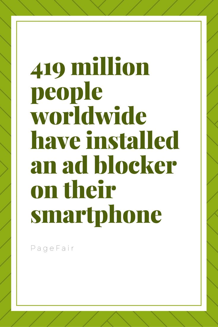Have you installed one on yours?  #greenermedia #content #marketing #ads #adblocker #adfiltering #advertising #webpage #mobile #socialmedia