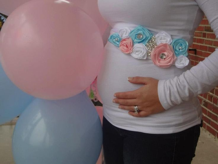 gender reveal party ideas | Gender Reveal Maternity Sash by FancyYouFashions on Etsy  I wish these were around when I was pregnant. They are cute!!