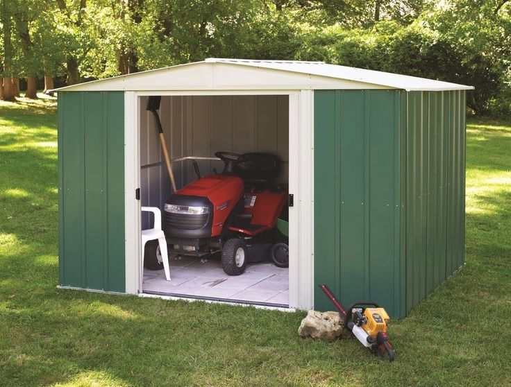 Arrow Shed:10 X 6 Yard Shed / Medium Garden Shed / Metal Kit