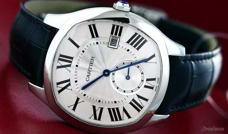 The new Cartier Drive de Cartier watch is exclusively for the most driven and dapper dudes.