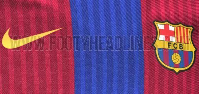 Nuevas imágenes de la camiseta del FC Barcelona 2016/17