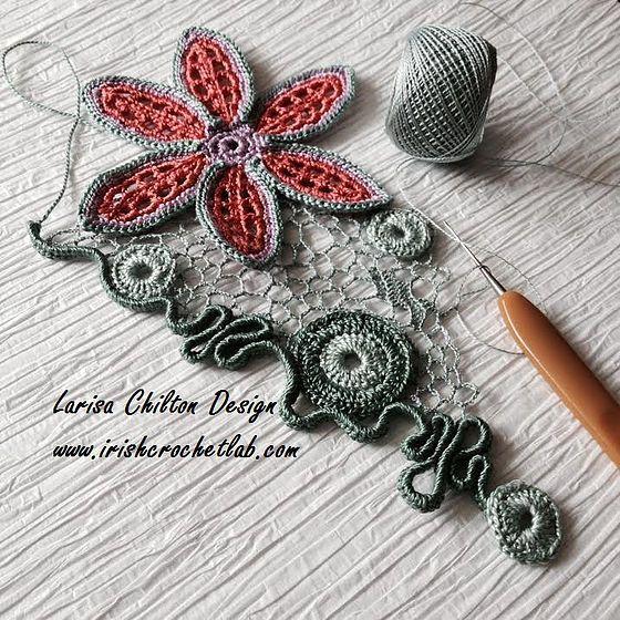 Best 93 irish crochet images on Pinterest   Irisch häkeln ...