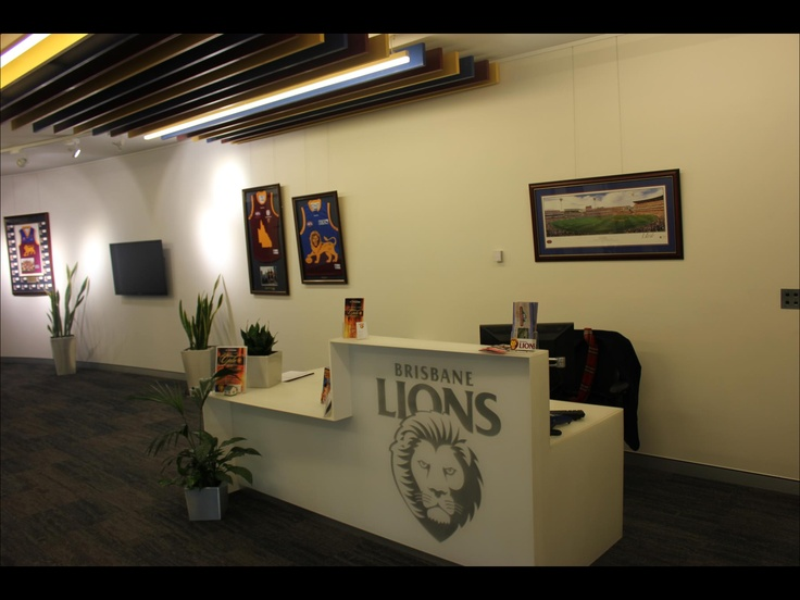Brisbane Lions Admin Office!