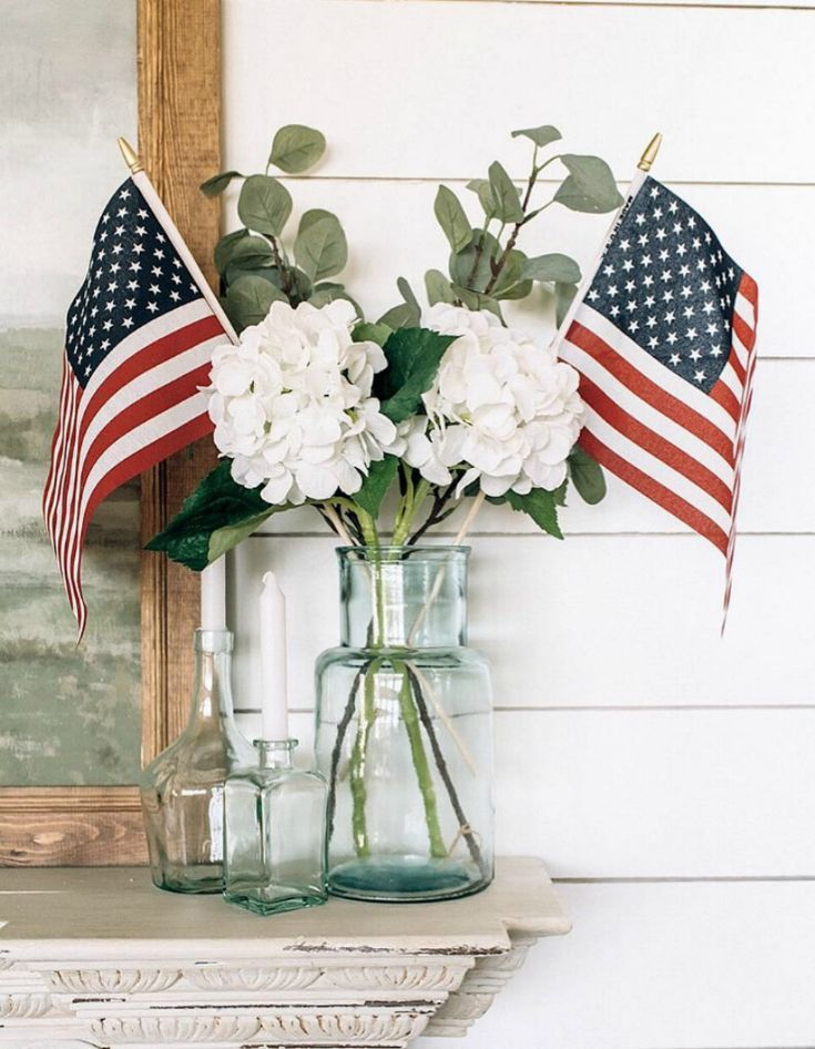 10 Memorial Day Decorations Inspired By Instagram Bluesky At Home Memorial Day Decorations Labor Day Decorations 4th Of July Decorations