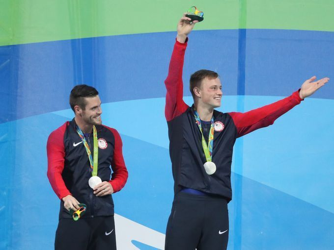 David Boudia and Steele Johnson brought home silver