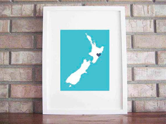 Customize Your Home Is Where The Heart Is  New Zealand by LilyGene