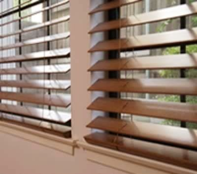 Wooden Blinds - pick color to match hardwood