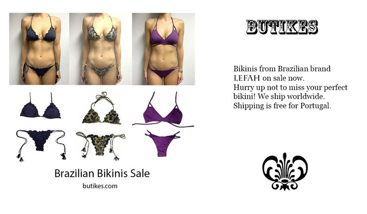 Sexy Brazilian bikinis on our online store.