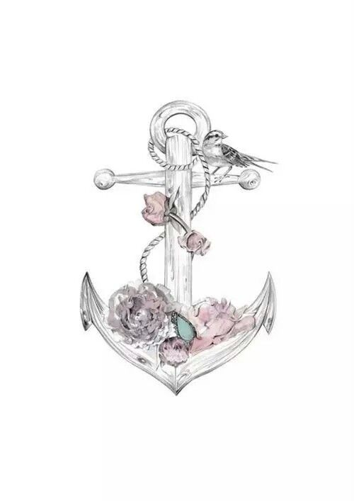 Delicate flowered anchor