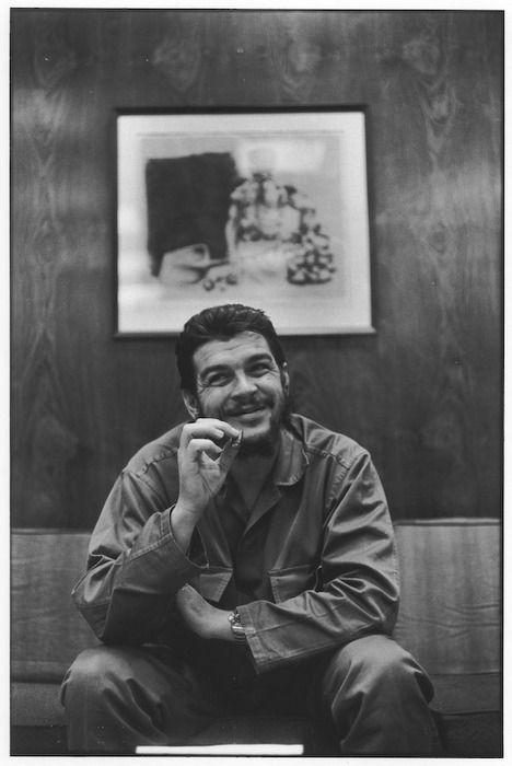 Que buena foto del Che Guevara... Comentario desvinculado de cualquier ideología socio-politica
