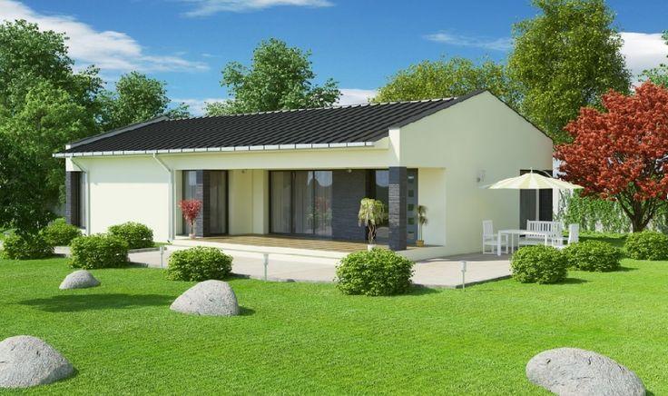 Case de vis moderne doar cu parter – proiecte detaliate