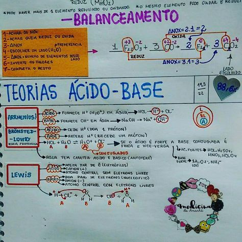 """#QUÍMICA #ÁCIDO #BASE #RESUMO <span class=""""emoji emoji2764""""></span><span class=""""emoji emoji2764""""></span><span class=""""emoji emoji2764""""></span> Também já está disponível para download no blog (RESUMOS 2016 ..."""
