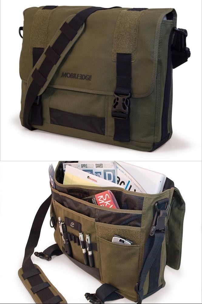 "Laptop Messenger Bag Computer PC Notebook Case Business Shoulder Briefcase 17"""