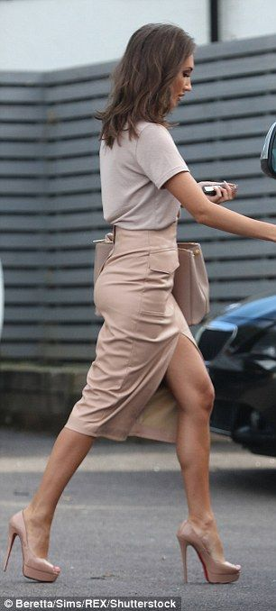 Megan McKenna is back on TOWIE set in sexy nude ensemble... after love rival Jacqui claimed Pete used her for fame | Daily Mail Online