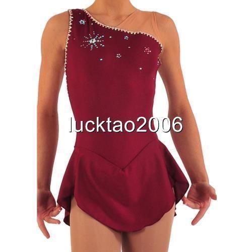 Adult New Figure Skating Dress Ice Skating Costume Sparkle Brand icefairy #8820 | Sporting Goods, Winter Sports, Ice Skating | eBay!