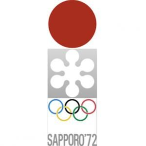 Official logo for the winter Olympic games in 1972