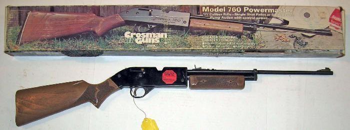 Crosman Vintage Old 760 Pumpmaster Air Rifle 177 Bb S