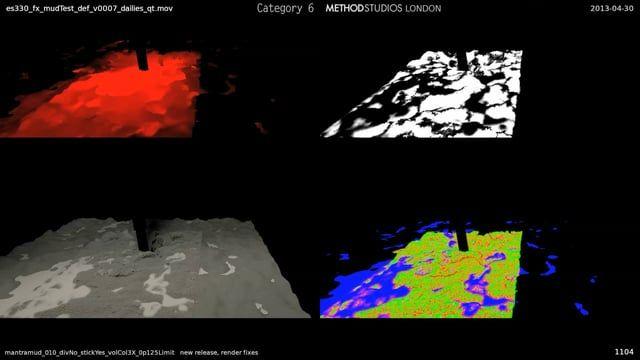 1) variable viscosity mud & water simulations ... flip solver 2) concrete tunnel destruction ... bullet solver