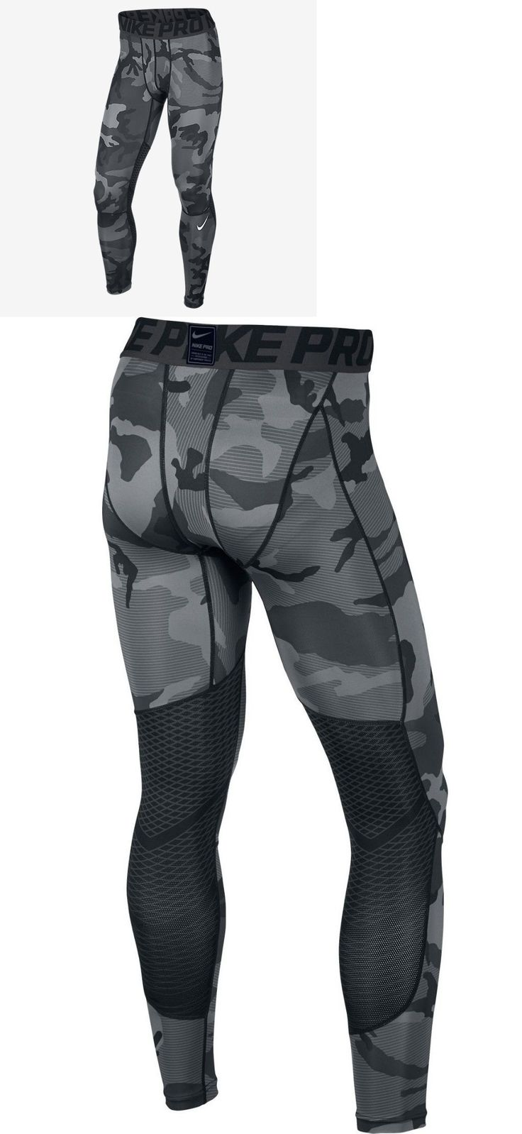 Compression and Base Layers 179825: Nike Pro Hypercool Allover Print Mens Tights 801227-010 Size Xl Msrp $60 -> BUY IT NOW ONLY: $44.99 on eBay!