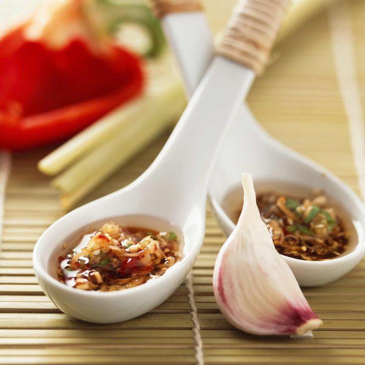 Découvrez la recette Sauce thaïlandaise sur cuisineactuelle.fr.