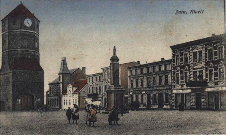 Żnin, Rynek 1916r.