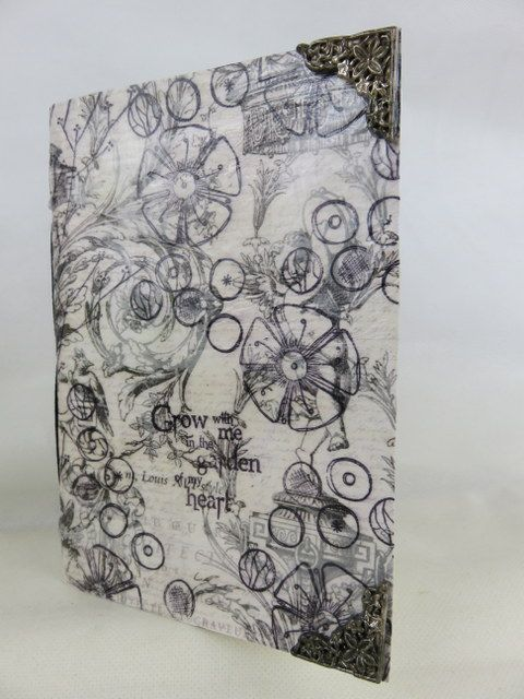 PaperArtsy: 2017 #6 Resin and UTEE Notebook {by Darcy Wilkinson}
