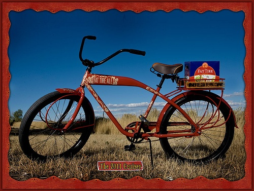 New Belgium 20th Anniversary Fat Tire Cruiser Bike A