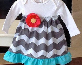 onsie dress! chevron baby onesie - Google Search