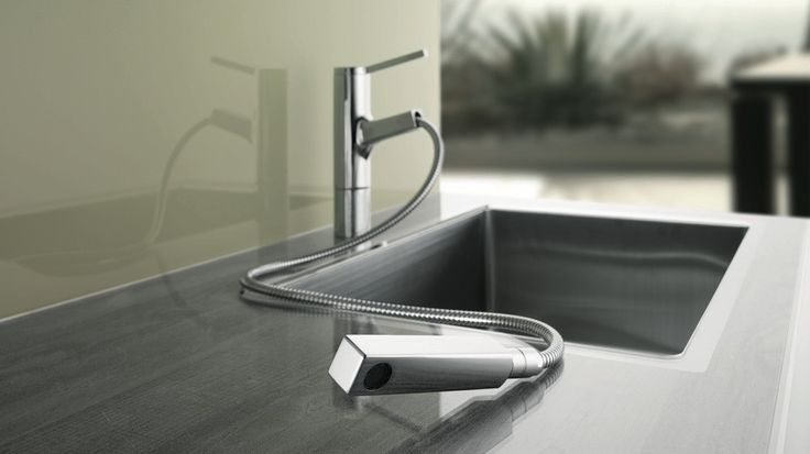 En cette fin d'année, Franke et KWC vous proposent leurs toutes dernières innovations en terme de robinetterie. Lumière intégrée au bec, douchette ...
