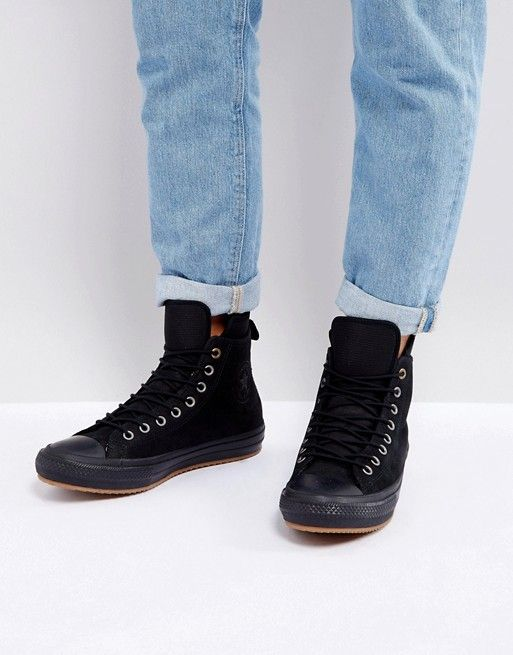 b6594f7aa4d1 Converse Chuck Taylor All Star WP Sneaker Boots In Black 157460C001 ...