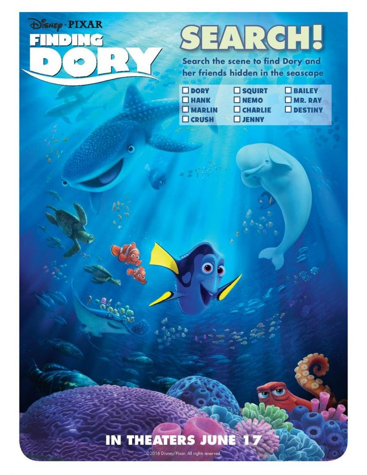 Finding Dory Now in Theaters