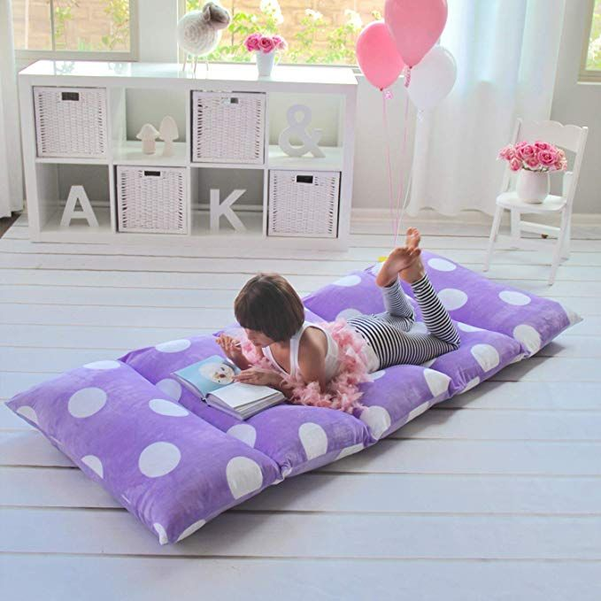Butterfly Craze Girls Floor Lounger Seats Cover and Pillow Cover Made of Super Soft Luxurious Premium Plush Fabric Perfect Reading and Watching TV Cushion Great for SLEEPOVERS Slumber Parties