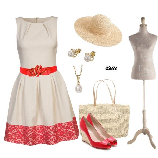 """Closet summer dress"" by lellelelle on Polyvore"