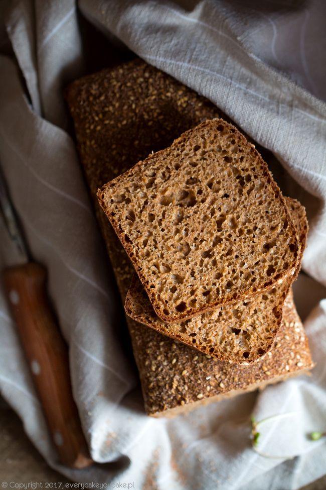 Irlandzki chleb brązowy, Irish brown bread #chleb #bread #irish