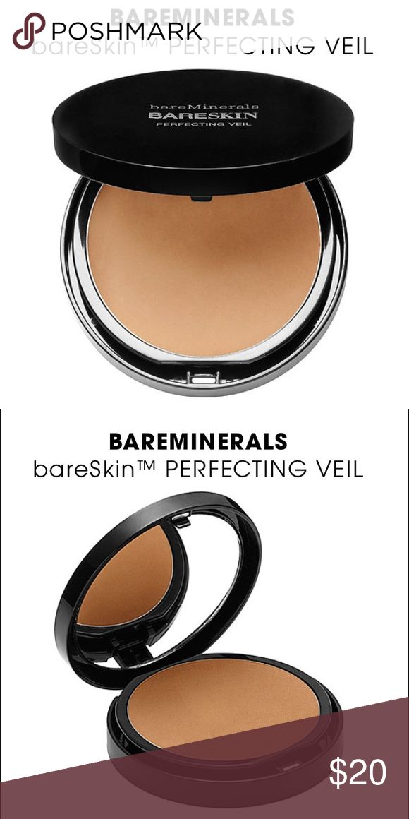 Bare Minerals BARESKIN perfecting veil medium What it is: A weightless, brightening finishing powder that blurs the appearance of fine lines.   What it does: This utterly weightless finishing powder is formulated with light-reflecting optics to help diffuse the look of fine lines. Infused with lilac plant stems cells and vitamin C, it helps to brighten up the complexion, and a special blend of minerals absorbs excess oil and balances the skin's texture. bareMinerals Makeup Concealer